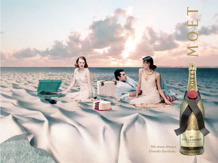 moet surreal advertising marie chapuis